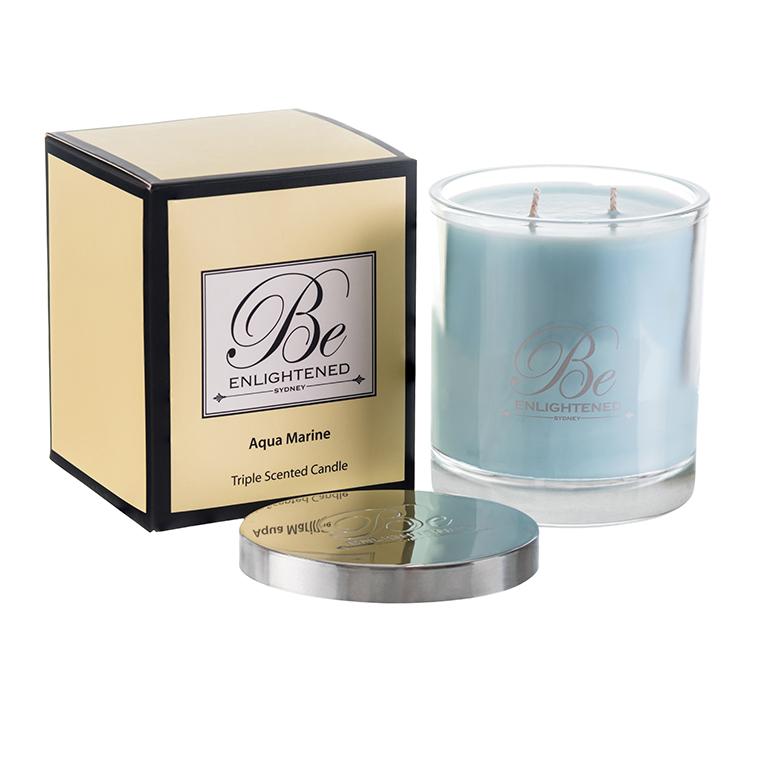 Aquamarine 2 wick candle