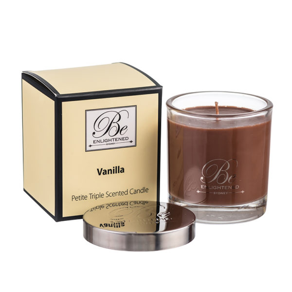 Vanilla Candle triple scented candles made in Australia