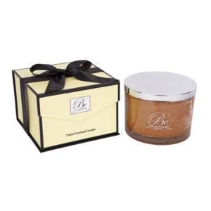 Cafe Caramel candle 1.6kg - triple scented caramel fragrance candle - Be Enlightened