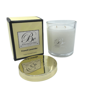 French Lavender Candle 400g Be Enlightened Australian Made Scented Candles