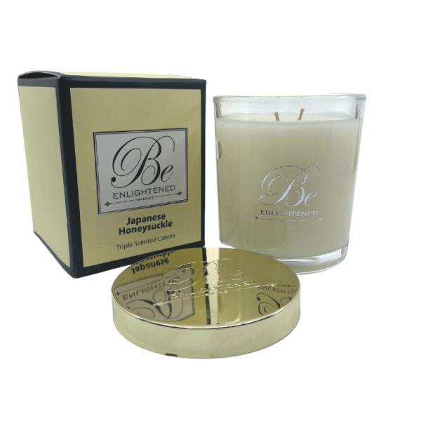 Japanese Honeysuckle Candle Be Enlightened Australian Made Scented Candles