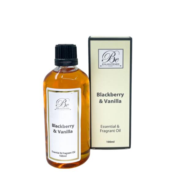 Be Enlightened Blackberry & Vanilla 100ml Essential Oil