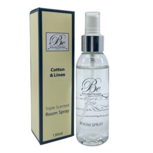 Be Enlightened Cotton & Linen 130ml Room Spray