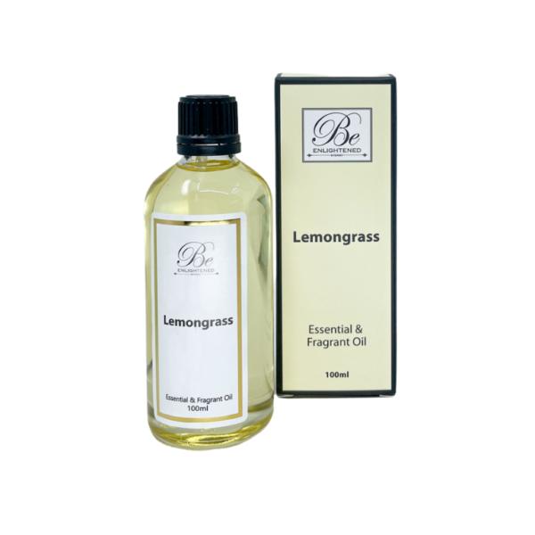 Be Enlightened Lemongrass 100ml Essential Oil