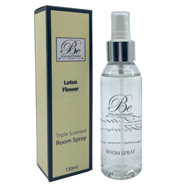 Be Enlightened Lotus Flower 130ml Room Spray