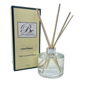 Be Enlightened Lotus Flower 200ml Diffuser