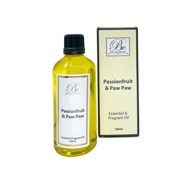 Be Enlightened Passionfruit & Paw Paw 100ml Essential Oil