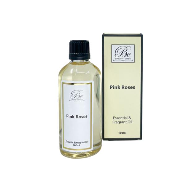 Be Enlightened Pink Roses 100ml Essential Oil