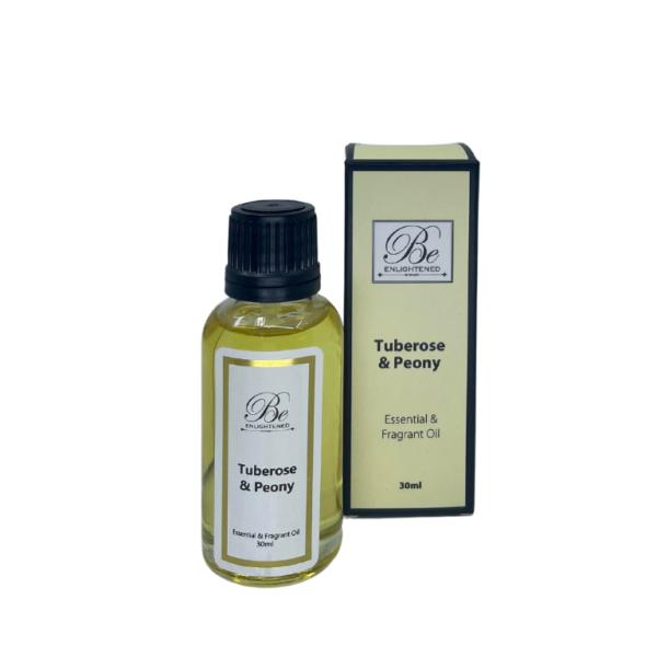 Be Enlightened Tuberose & Peony 30ml Essential Oil