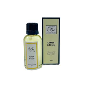 Cotton & Linen 30ml Essential Fragrant Oil bottle & box