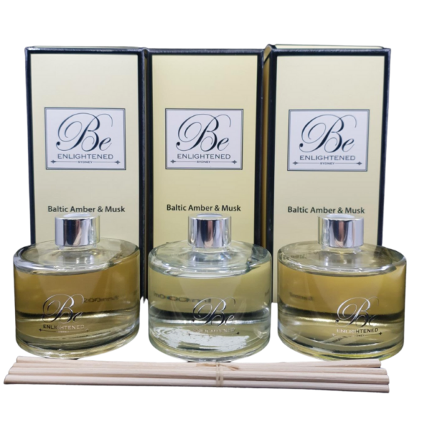 Baltic Amber & Musk 3 Pack Diffusers