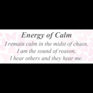 Energy of Calm