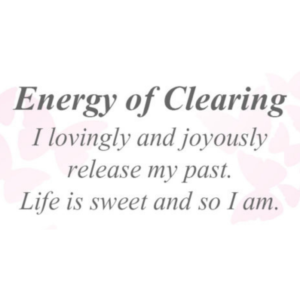 Energy of Clearing
