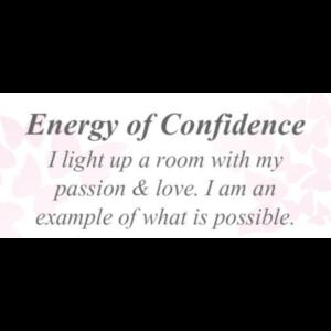 Energy of Confidence