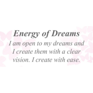 Energy of Dreams