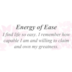 Energy of Ease