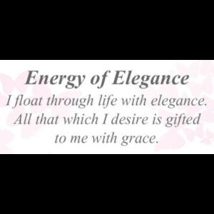 Energy of Elegance