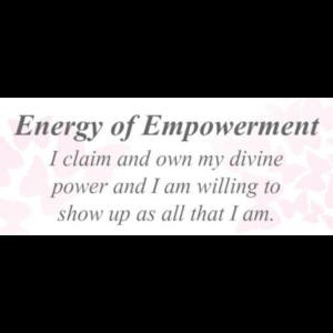 Energy of Empowerment