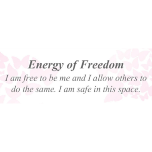 Energy of Freedom