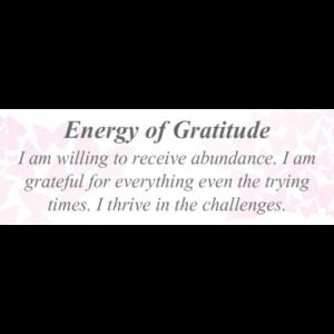 Energy of Gratitude