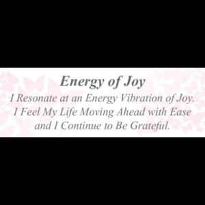 Energy of Joy