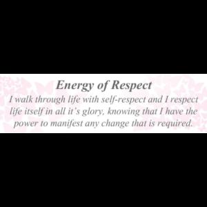 Energy of Respect