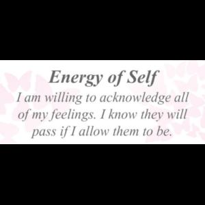 Energy of Self