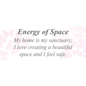 Energy of Space