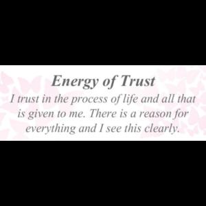 Energy of Trust