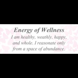 Energy of Wellness