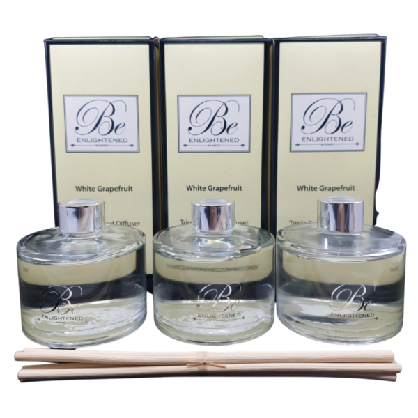 White Grapefruit 3 Pack Diffusers