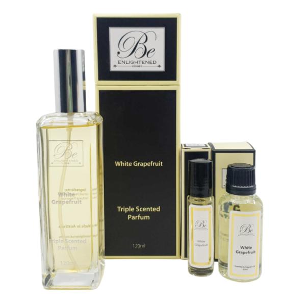 White Grapefruit Parfum & Oil Pack