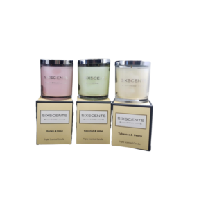 Six Scents Combination 3 Pack