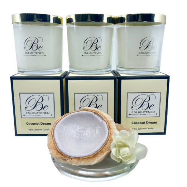 Coconut Dream 3 Pack Candles