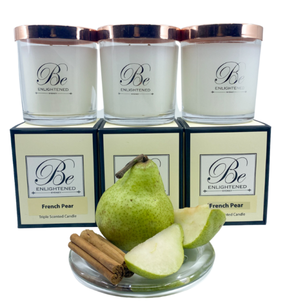 French Pear 3 Pack Candles