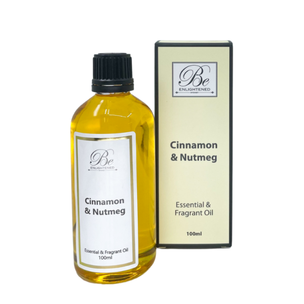 Be Enlightened Cinnamon & Nutmeg 100ml Essential Oil