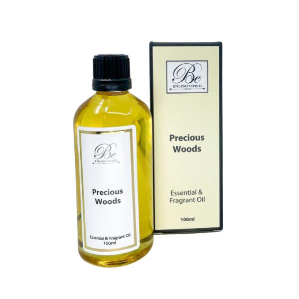 Be Enlightened Precious Woods 100ml Essential Oil