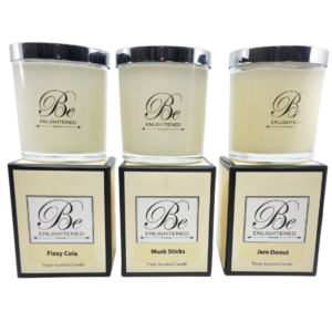 Candy Land Elegant Candle 3 Pack