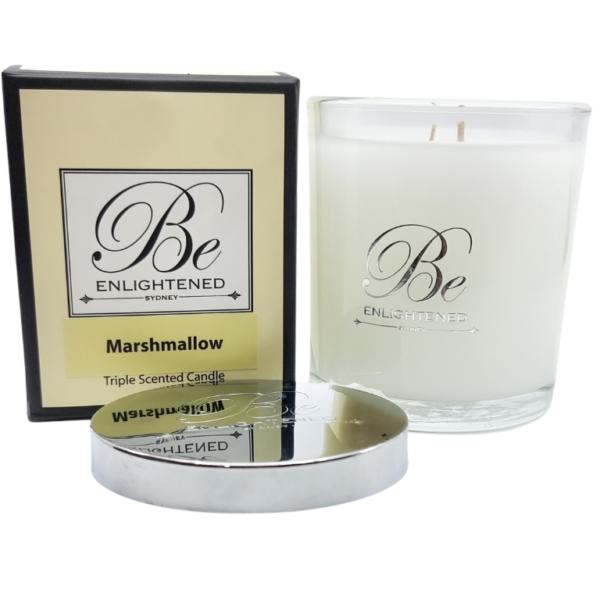Marshmallow Elegant Candle